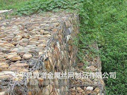 厂家供应铅丝石笼网,堤坝防护固滨笼,生态格网固滨笼