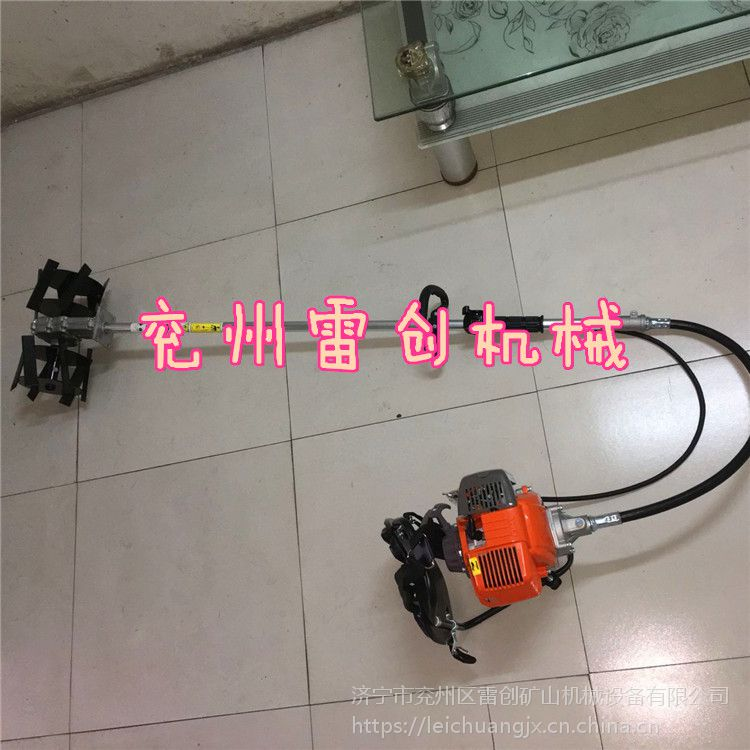 汽油机背负式除草机多功能旋耕割草机