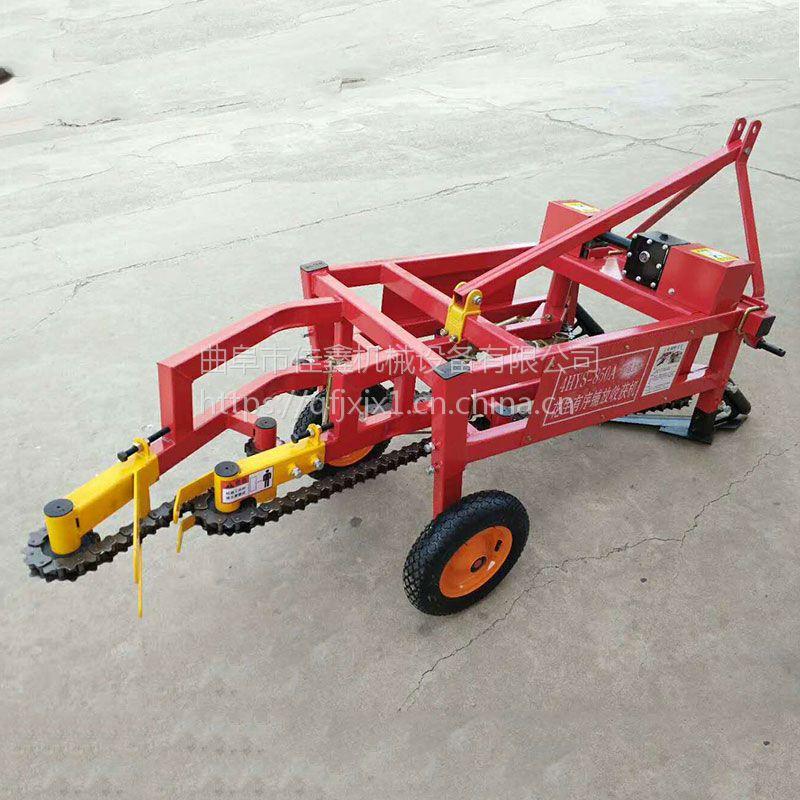 拖拉机带动果子收获机厂家 佳鑫垄上种植收果机 刨果子机