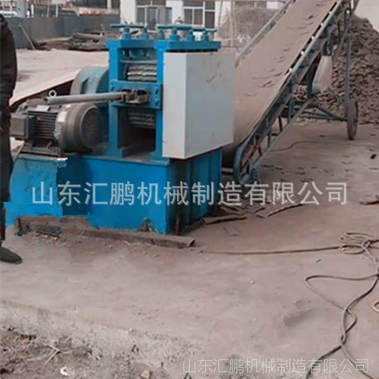 山东机械滚剪压扁切断一体机汇鹏 厂家热销架子管截断机