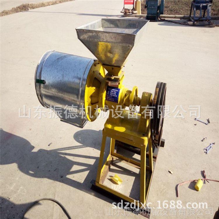 麦类五谷磨面机 振德 小型玉米家用磨面机 小麦去麸皮磨面机