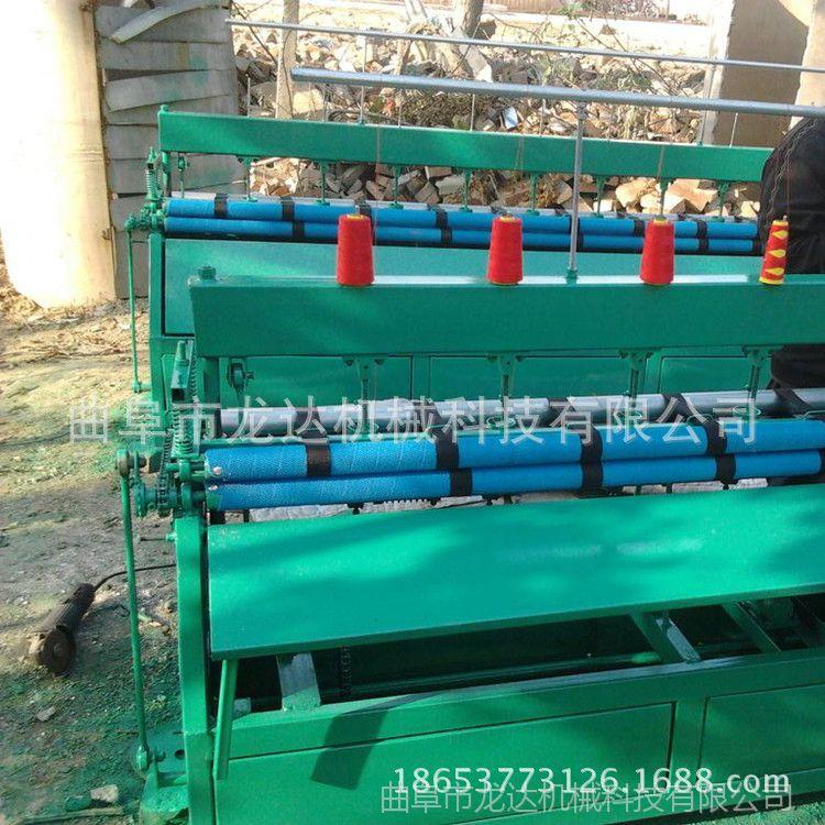 厂家直销全自动多针绗缝机 棉门帘大棚被套被缝被机 无底线套被机