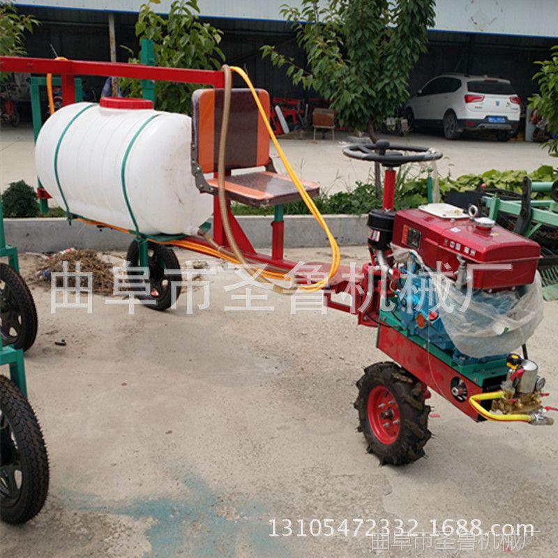 三轮打药机 汽油自走式喷雾器 麦田宽幅打药机