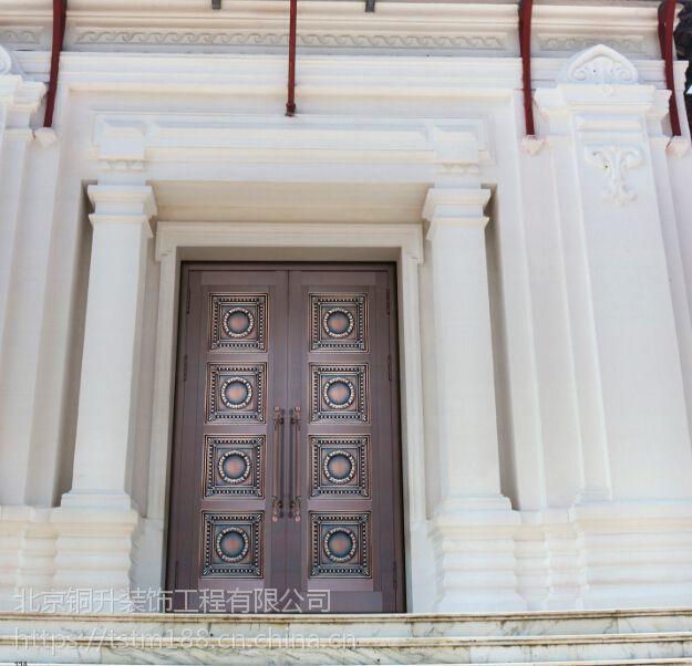 北京铜升甲级防盗铜门进户铜门入户铜门安全铜门