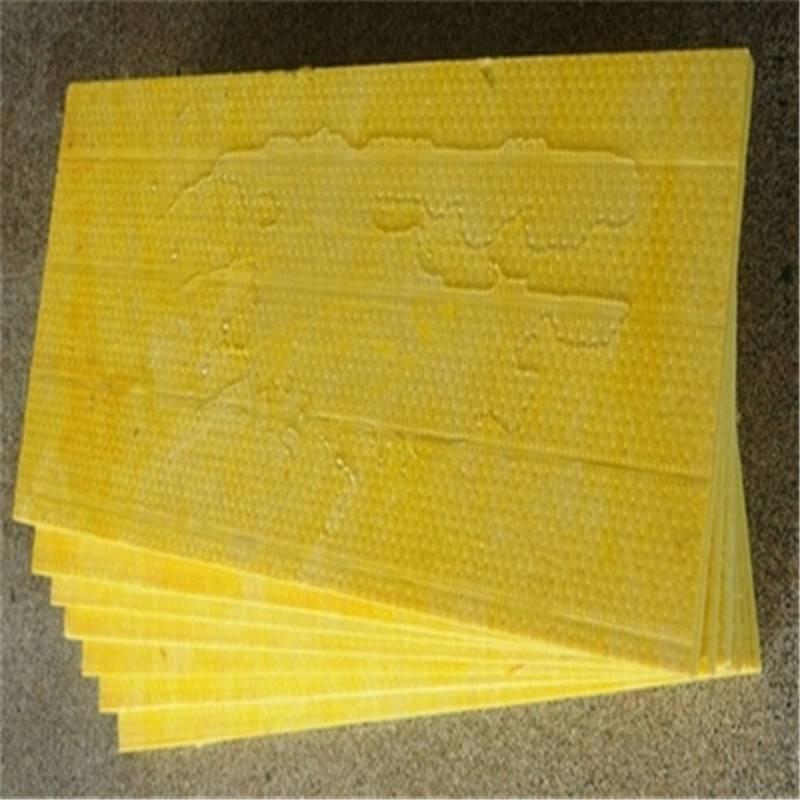 正品复合玻璃棉板 高密度玻璃棉保温板