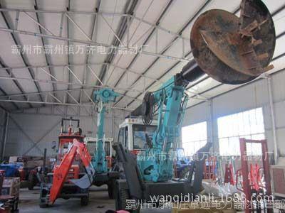 厂家直销 挖掘机挖坑机 电力施工打洞机价格 全国到货 验货付款