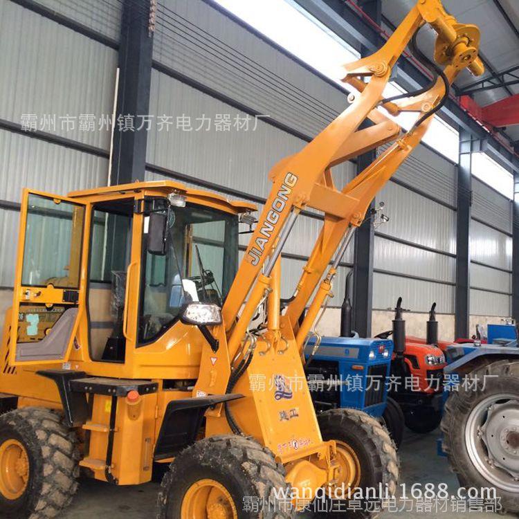 厂家直供 改装装载机钻孔机水泥杆挖坑机改装孔钻机