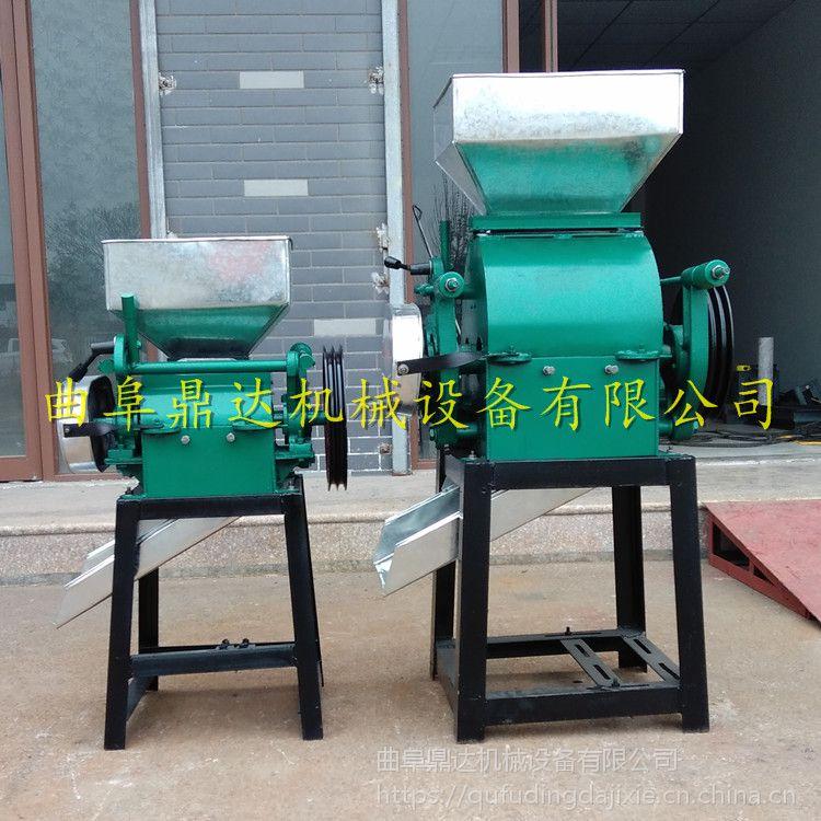 厂家直销油坊专用花生米破碎机 对辊式杂粮碎粒机 鼎达牌