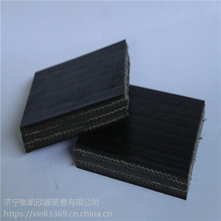 河南化工厂聚酯运输带,耐酸碱EP100输送带,布层带