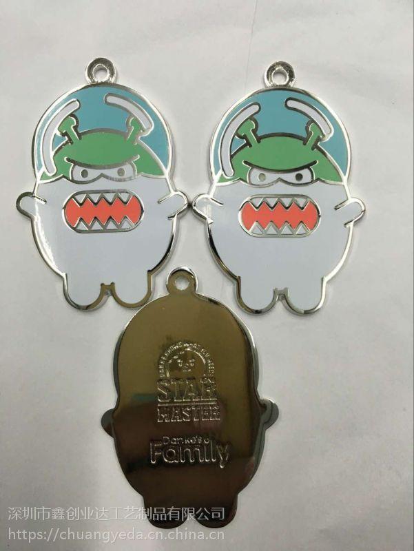 西安制作合金钥匙扣厂家深圳金属纪念钥匙扣设计订做