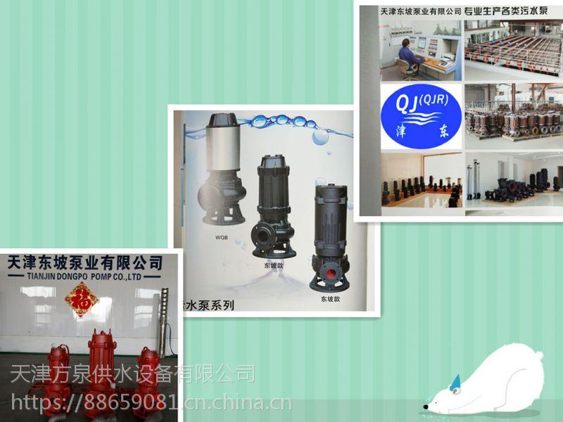 天津东坡WQ1.1KW-550KW污水泵大量现货