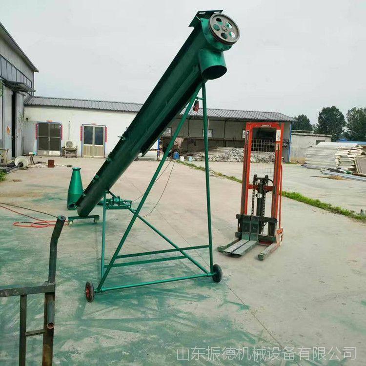 不锈钢螺旋提升机 管式螺旋提升机 振德供应 粮食斗式提升机