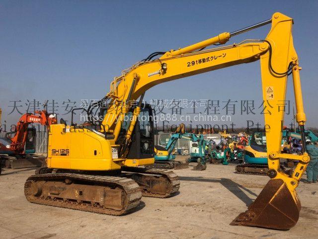 海外代购住友SH125X-3B2010年出厂5123小时