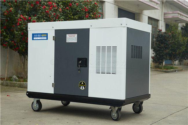 25千瓦静音柴油发电机结构