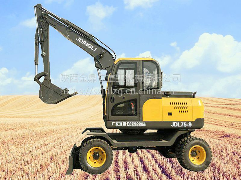 全新农用小勾机 超小型的植树挖坑机厂家金鼎立