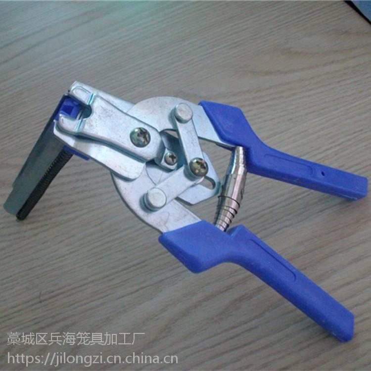 蛋鸡笼小鸡笼肉鸡笼专用手动装笼钳子,专用绑笼钳