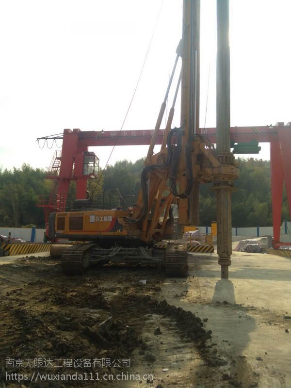 浙江280旋挖钻机出租 旋挖钻机用途广
