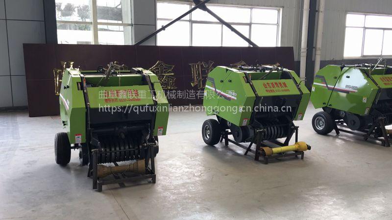 沧州稻草打包机专业厂家 鑫联牌xl-8070型稻草秸秆捆草机哪里有销售