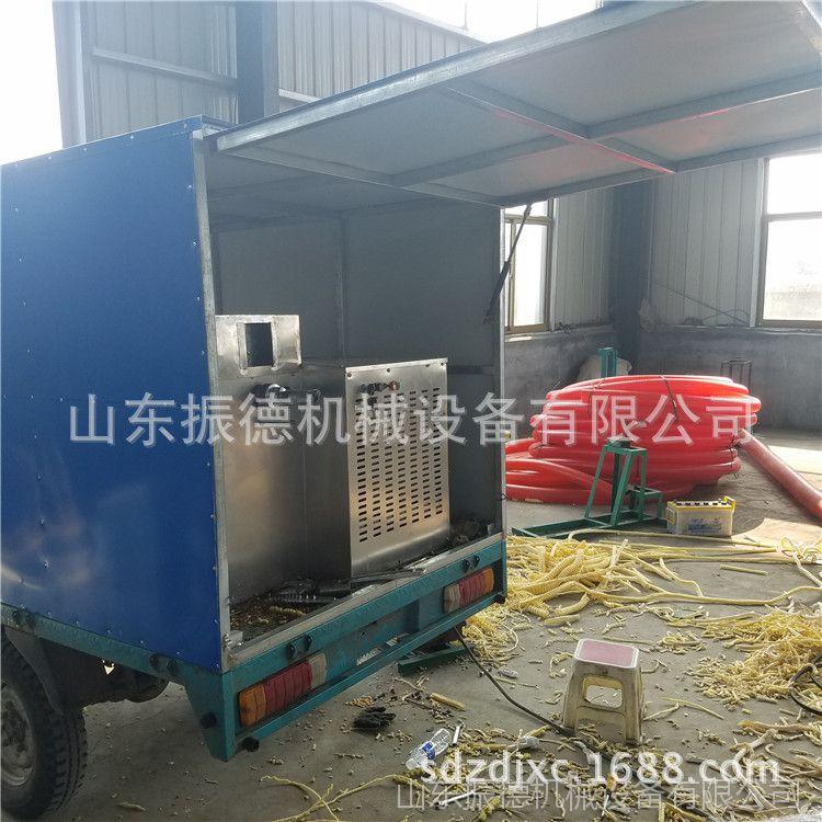 云南供应不锈钢膨化机 振德新款休闲食品膨化机械  江米棍机