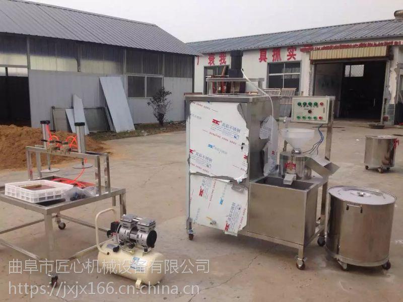 浙江节能腐竹机,腐竹机配置,匠心豆制品机械流水线自动操作