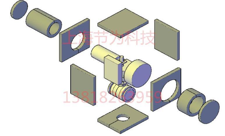 柔性进口DN100防火罩美国UL柔性防火罩