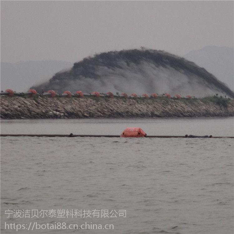 10寸管线浮子孔径20公分抽沙塑料浮筒厂家