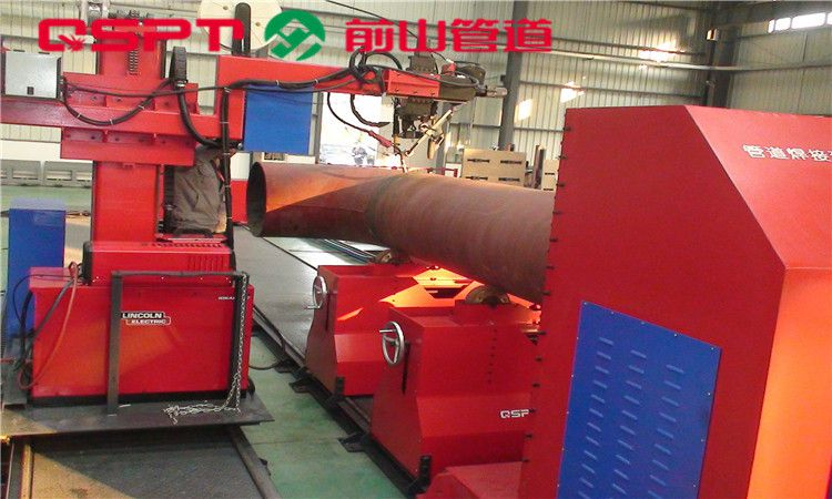 悬臂式管道自动焊机 管道坡口机 上海前山管道供应