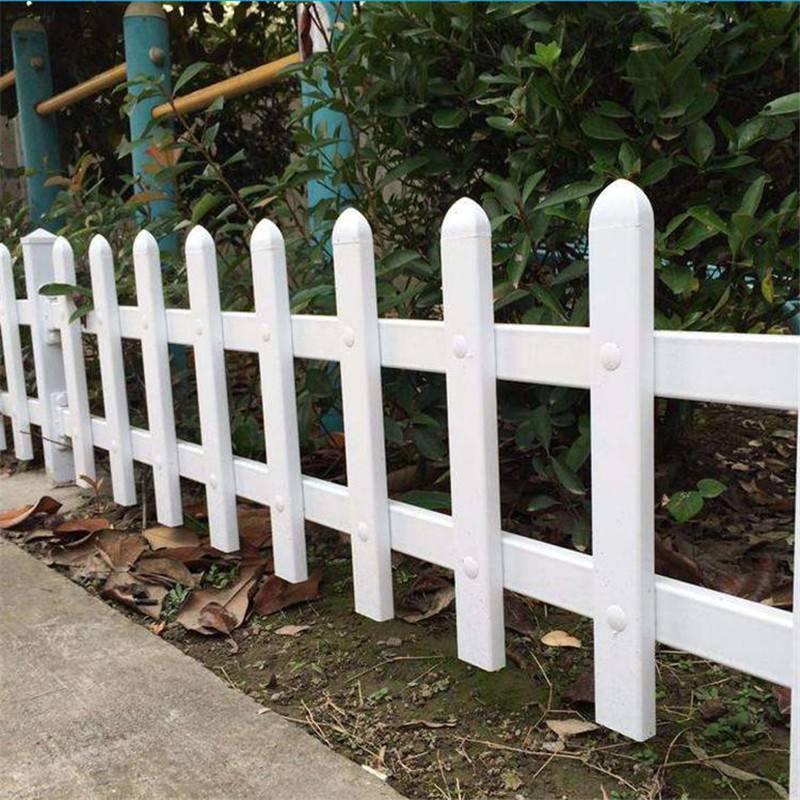 PVC草坪围栏 城市绿化围栏 厂区隔离栅