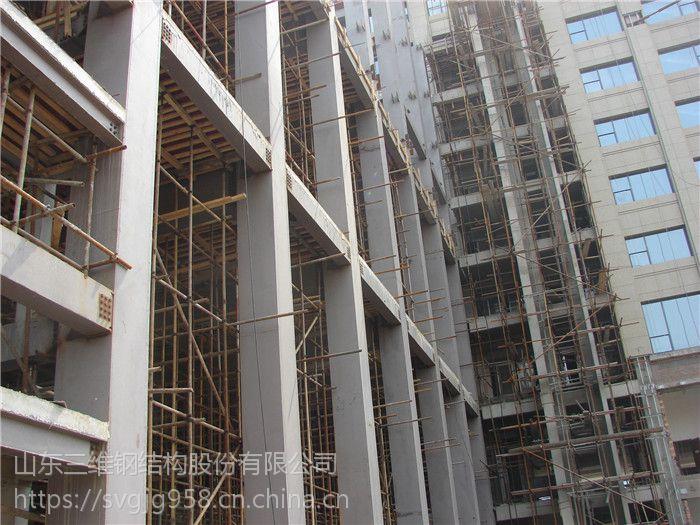 济南空军政治部7层接待楼钢结构工程