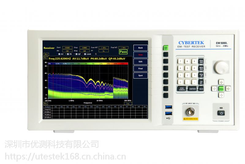 知用CYBERTEK EM5080L EMI接收机