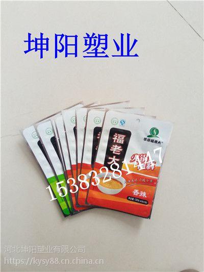 坤阳180克麻辣香锅调料铝箔自立包装袋牛板筋真空包装袋