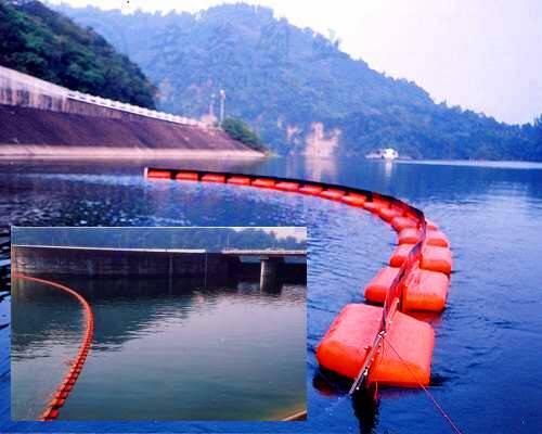 水面拦截垃圾浮体 直径260*810浮体浮筒报价