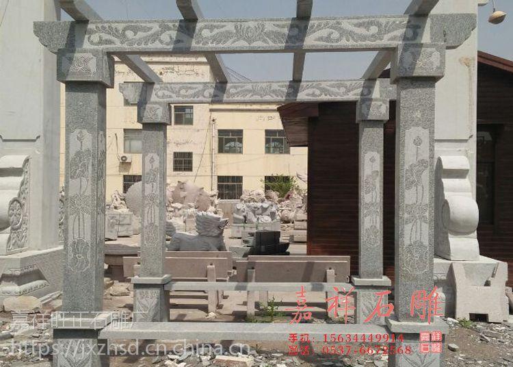 花岗岩石材长廊哪里卖 户外大理石走廊多少钱一米