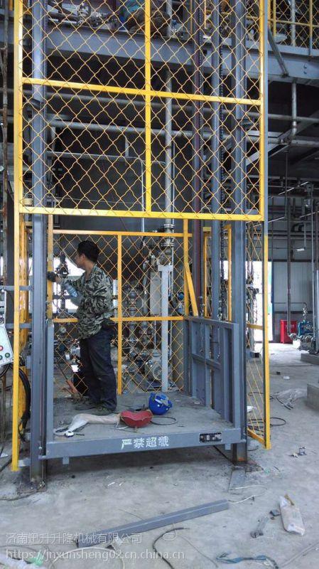 二层升降货梯、无机房¥3吨升降货梯、两面贯通更便捷
