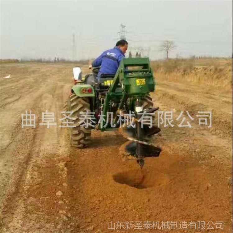 螺旋打坑机植树机 优质高效节能打洞机 大型种树挖坑机
