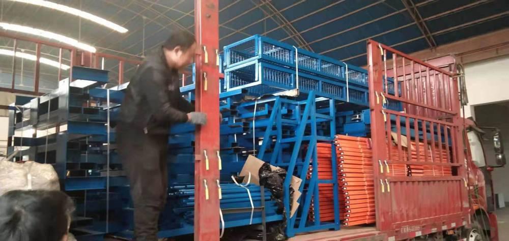 悬臂货架生产工艺 可调悬臂式货架定制 福建高位仓库