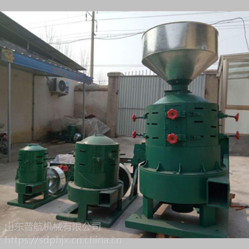 磨坊用的谷子碾米机 普航谷壳分离打米机 绿色营养糙米机图片