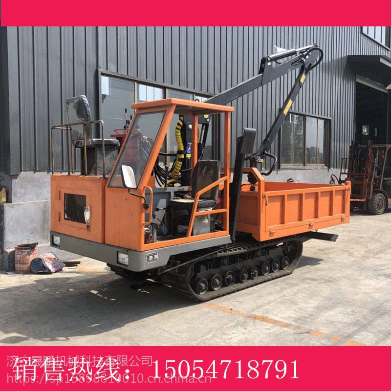 履带5吨运输车 矿石工程运输车