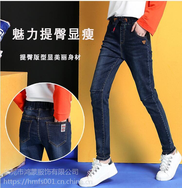 厂家直销 便宜牛仔裤牛仔裙 批发时尚牛仔尾货供应几块钱到十几块钱牛仔供应
