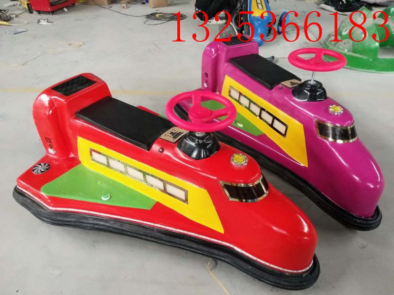 厂家直销双人亲子户外新款广场游乐设施儿童电瓶车飞机碰碰车玩具
