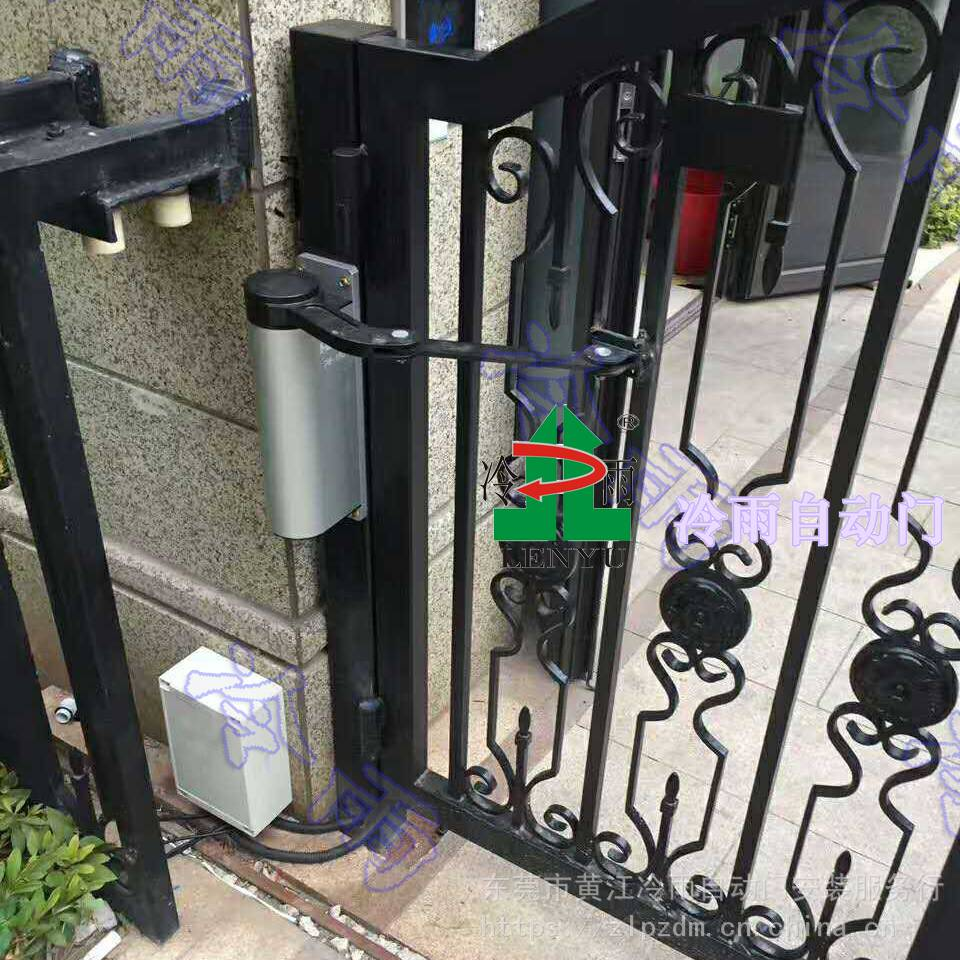 上海冷雨LEY开门机厂家 批发杨浦、闵行小区门禁自动开门机 小区平开广告门自动闭门器电机