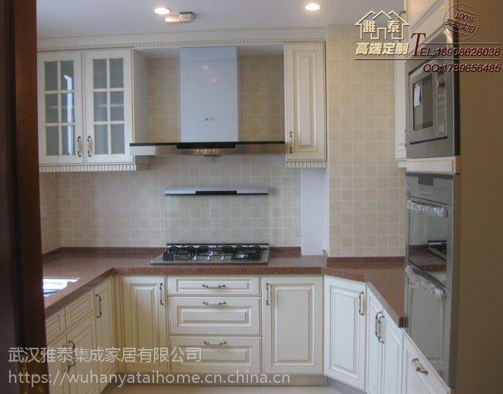 武汉橱柜定制打造一个浪漫温馨的家居环境 石英石台面