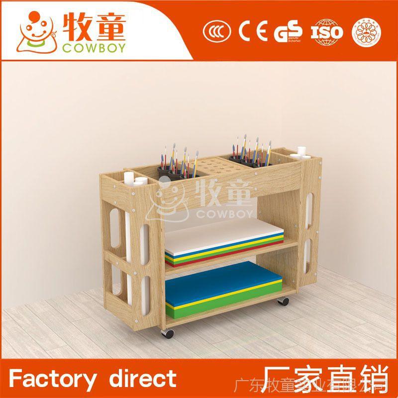 牧童幼儿园儿童桌椅 樟木儿童正方形实木桌椅组合定制