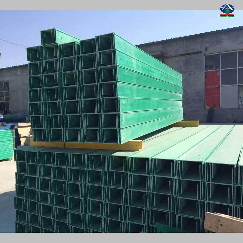 西安HQQJ-CS槽式玻璃钢电缆桥架400x100哪里有 复合材料拉挤 河北华强