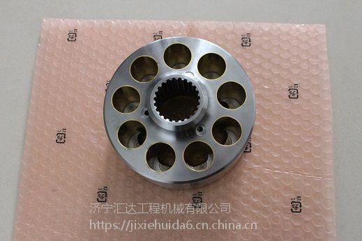 河南小松PC450-8泵胆总成 泵胆配流盘九孔盘 挖掘机配件大全