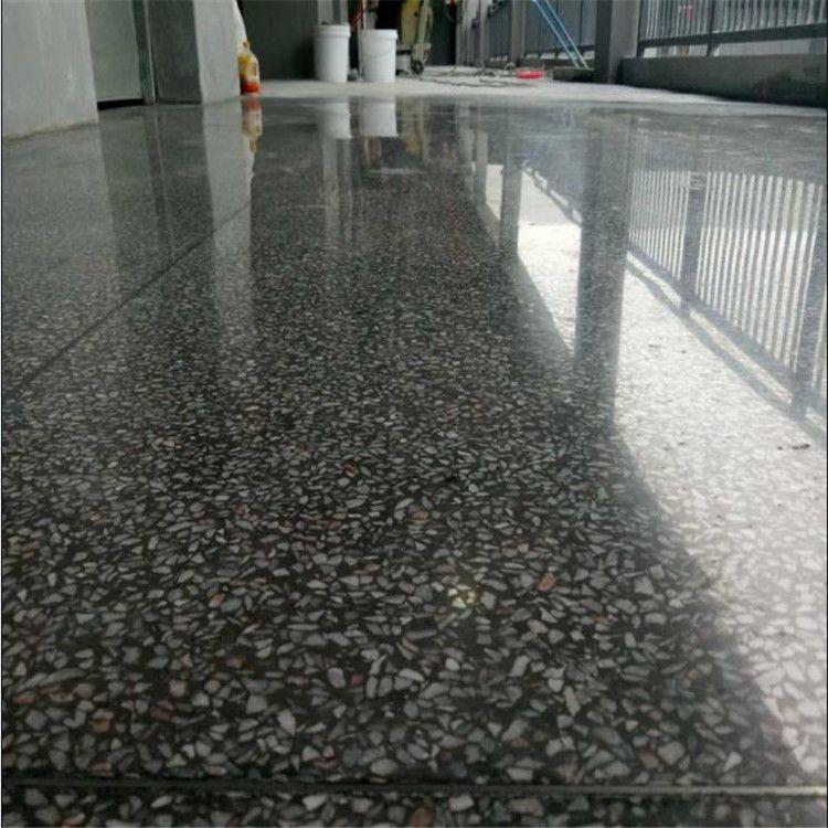 惠州水磨石地板翻新-龙门旧水磨石起灰处理