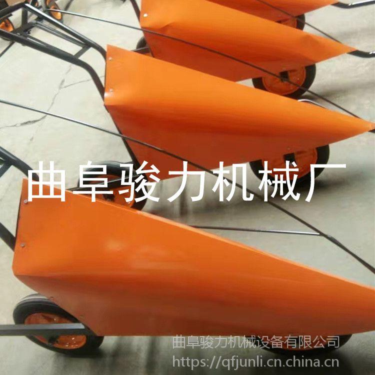 辣椒黄豆专用收割机 多功能手推式电启动辣椒水稻收割机 骏力牌 小型自走式