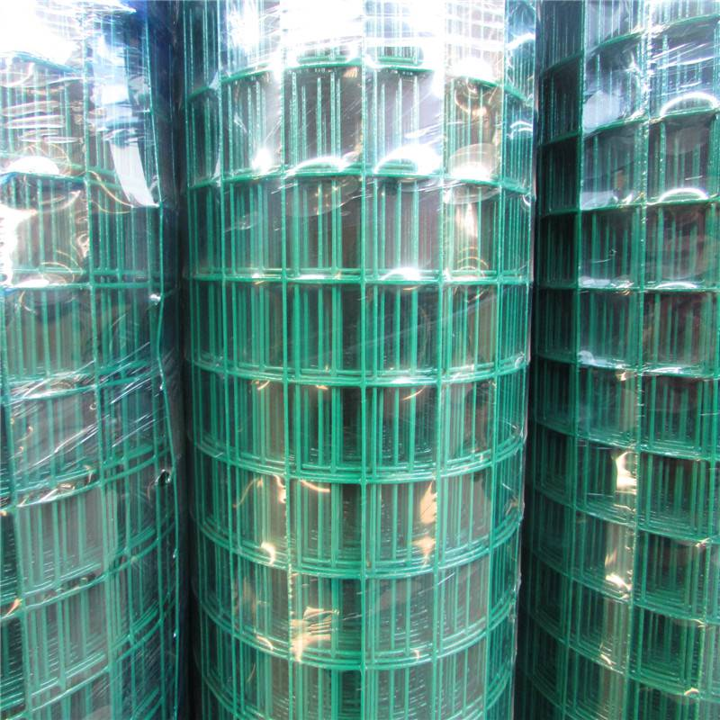 浸塑波浪荷兰网 绿色铁丝网 荷兰网护栏