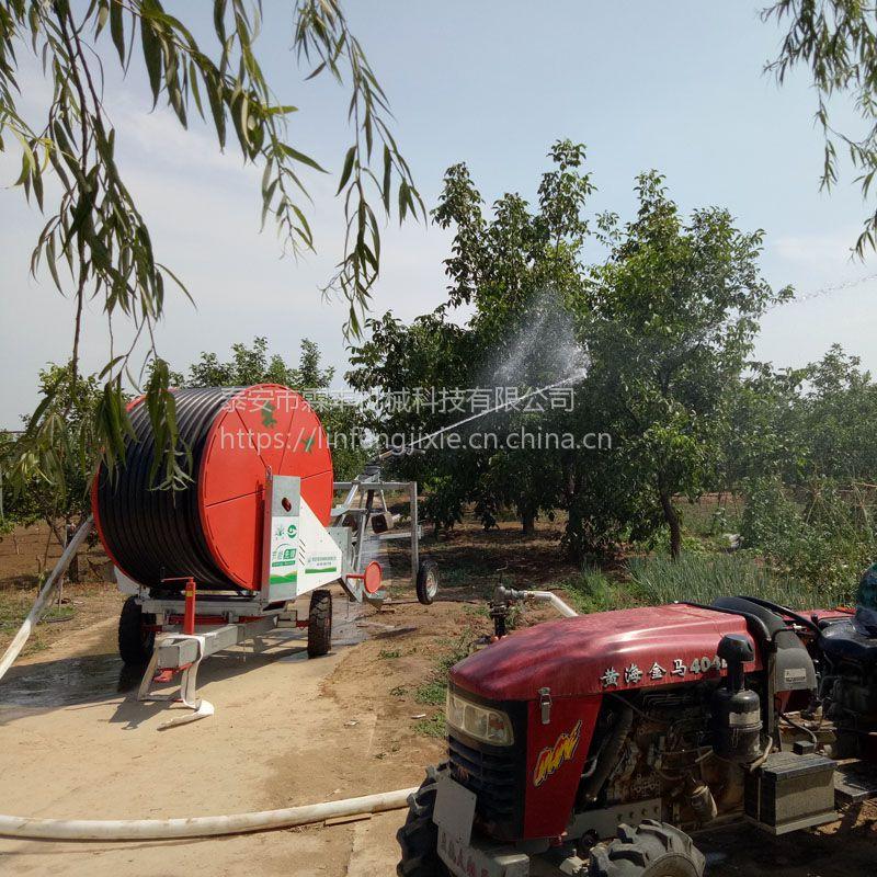 小麦自动灌溉设备农业200米大水量喷灌