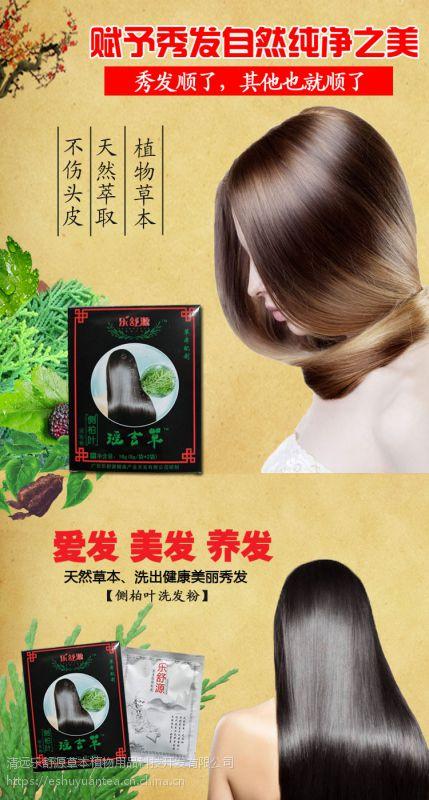 植物洗发包 头疗汤 侧柏叶洗养发粉包 白发黑发脱发草本包乐舒源